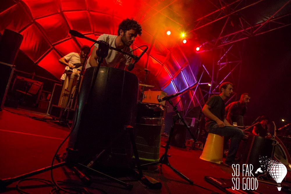 Concerto dei Bamboo a So Far So Good 26/08/2015