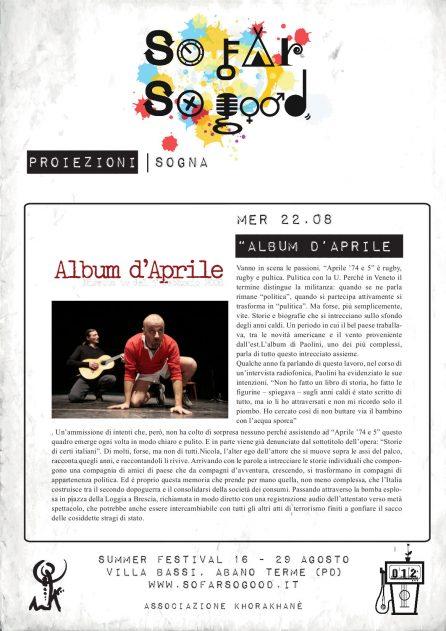 ALBUM D'APRILE