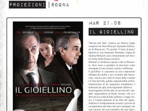 """""""So Far So Good"""" 2012 – proiezione – """"Il gioiellino"""""""