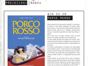 """""""So Far So Good"""" 2012 – proiezione – """"Porco Rosso"""""""