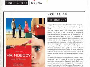 """""""So Far So Good"""" 2012 – proiezione – """"Mr. Nobody"""""""