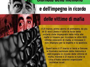 Giornata della Memoria e dell'impegno in ricordo delle vittime di mafia