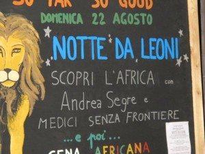 """22/08/2010 –  """"NOTTE DA LEONI"""""""