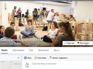 Segui il Laboratorio Culturale I'M su Facebook