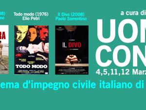 """Rassegna """"Uomini contro"""" – Omaggio al cinema italiano di impegno civile"""