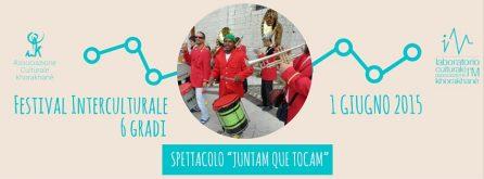 JUNTAM QUE TOCAM - festival 6 gradi