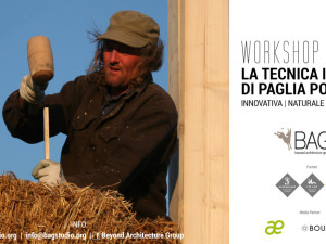 Workshop per costruire con balle di paglia portanti con il team BAG