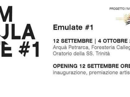 Esposizione artistica EMULATE – Progetto I'M Museum