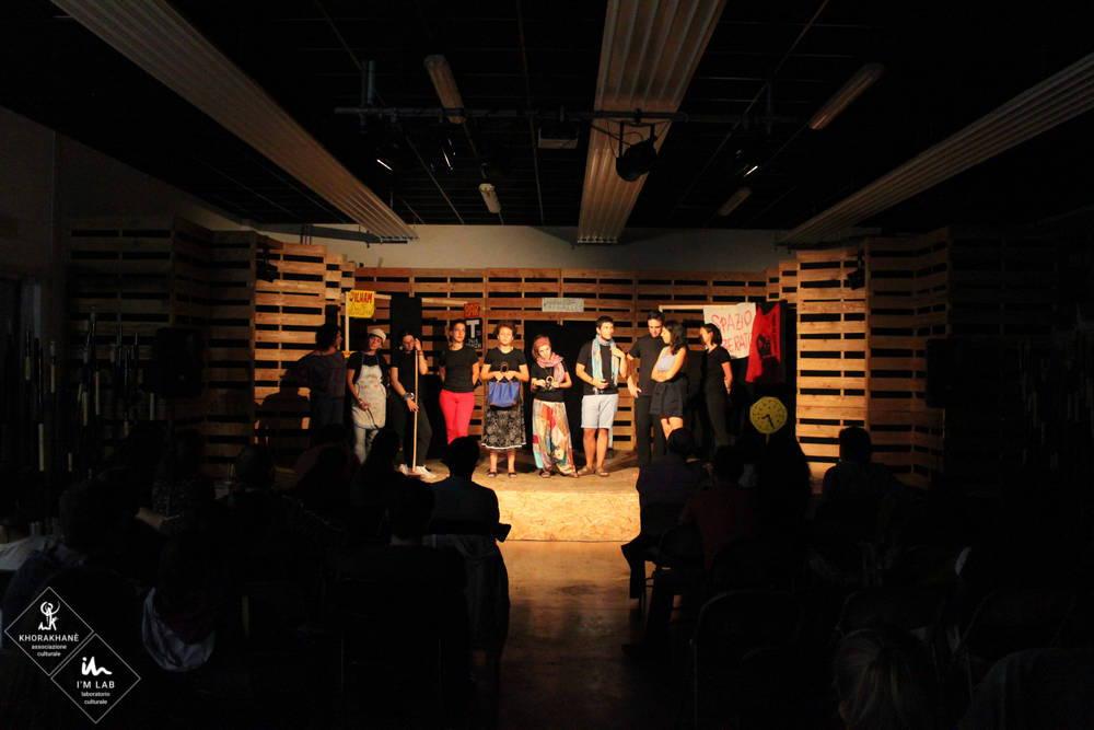 """Teatro Forum """"MacChè Degrado"""" con Teatro Liquido a So Far So Good 2015"""