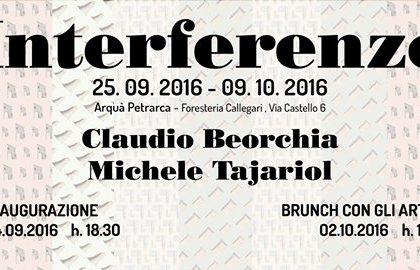 """La mostra """"Interferenze"""" ad Arquà Petrarca con M. Tajariol e C. Beorchia"""