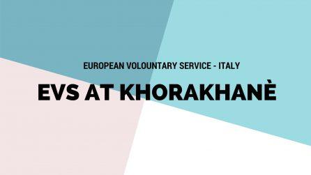 Progetto EVS Laboratorio Culturale I'M dell'Associazione Khorakhanè Abano Terme Padova