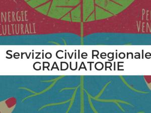 Servizio Civile Regionale: pubblicate le graduatorie